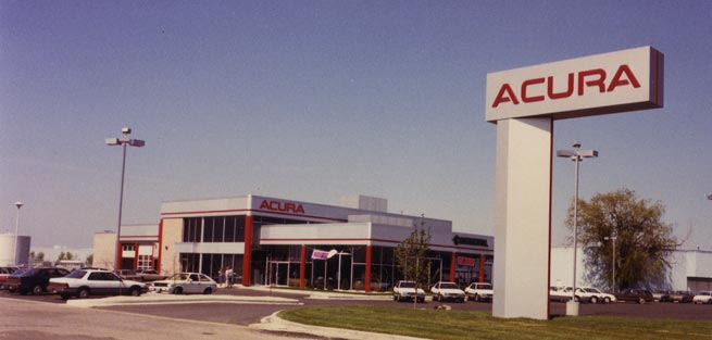 1987  Continental added Acura and opened new facility at 2110 Ogden Avenue in Lisle, Illinois.