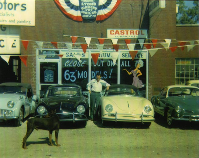 1962  Continental Motors founded in Lyons, Illinois by John and Herman Weinberger and  held a Triumph franchise with one employee.