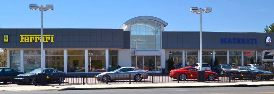 Continental AutoSports renovated their building expanding the Ferrari and Maserati showrooms.