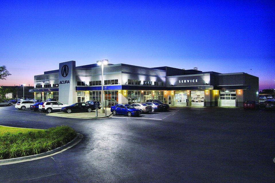 2004  Continental Acura moved to its new facility at 2275 Aurora Avenue in Naperville, Illinois.
