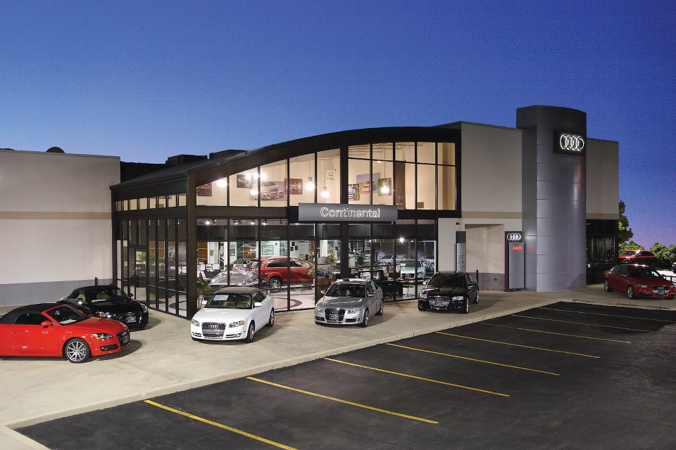 2000  Continental Audi moved into its new facility at 1527 Aurora Avenue in Naperville, Illinois.
